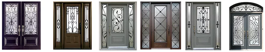 wrought doors